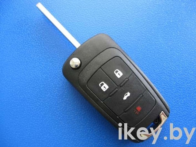 Замена батарейки в ключе Опель Астра h