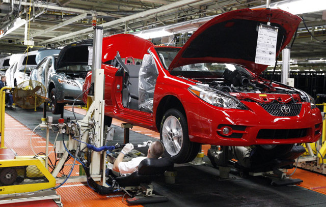 Где собирают автомобили Toyota - РАВ 4, Corolla и другие