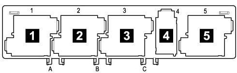 Предохранители и реле Skoda Octavia A5