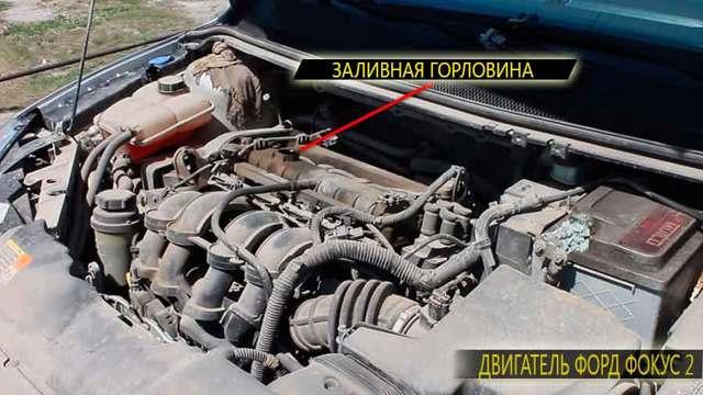 Замена масла Ford Focus 2