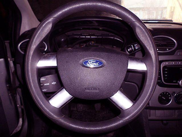 Видео как снять руль на Форд Фокус 2