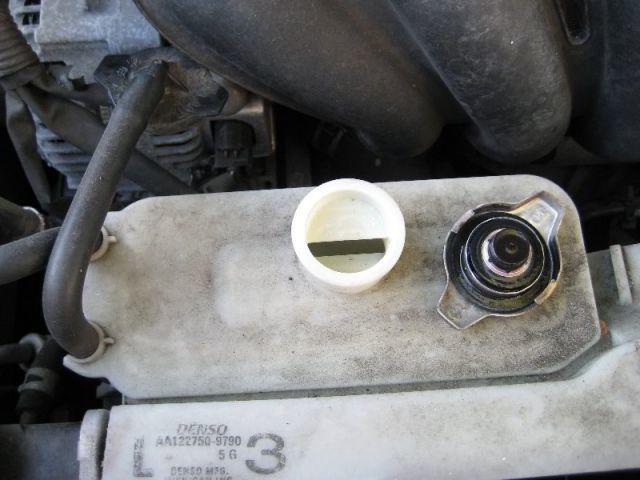 Замена антифриза в Toyota Corolla