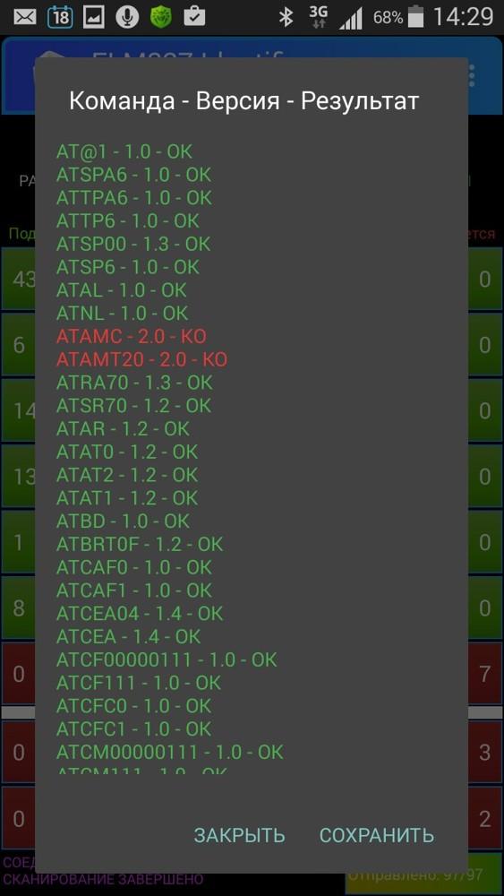 Диагностический разъем, elm327 не работает