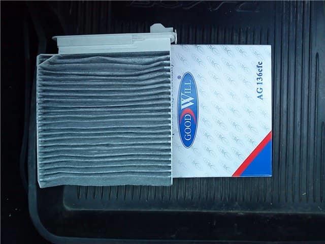 Процесс замены салонного фильтра в автомобиле renault logan — фото и видео