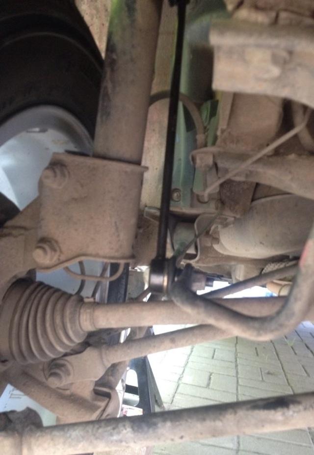 Диагностика, подбор и замена передних втулок стабилизатора Renault Duster