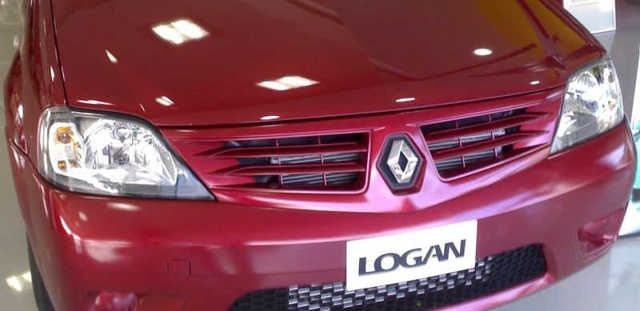 Замена лампы габарита на Renault Logan 2