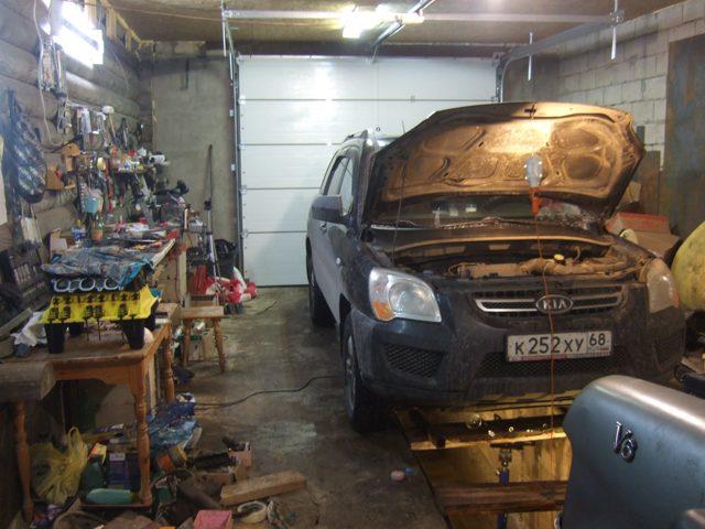 Замена ремня грм Киа Спортейдж 2 2009 года двигатель 2 литра