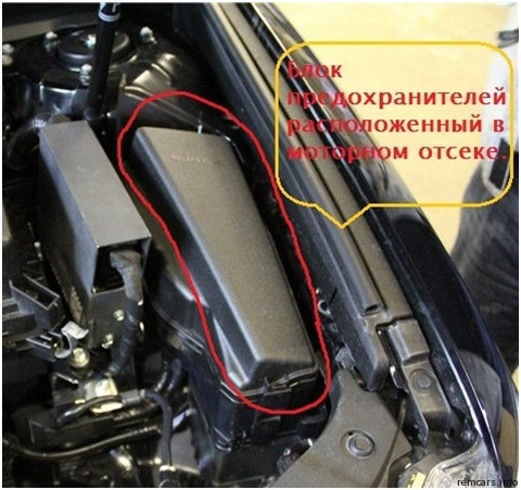 Toyota Camry XV50: Новые технологии защиты электрических цепей