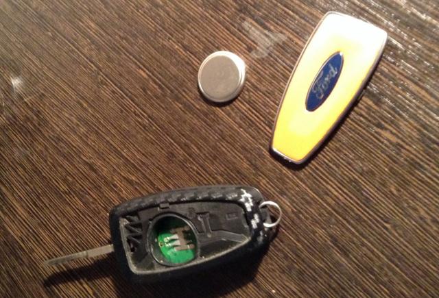 Как разобрать ключ Форд Фокус 3 видео
