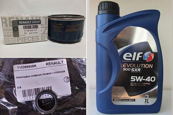 Замена масла в двигателе Рено Меган: инструкция, слив, залив, объем