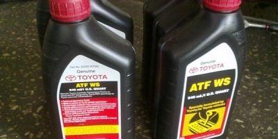Замена масла в акпп в Тойота Камри v30