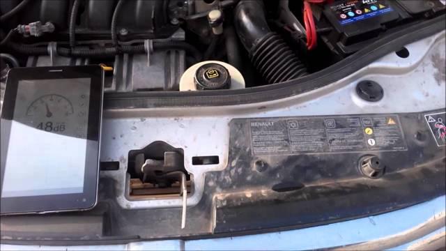 Замена масла имасляного фильтра двигателя Renault Duster