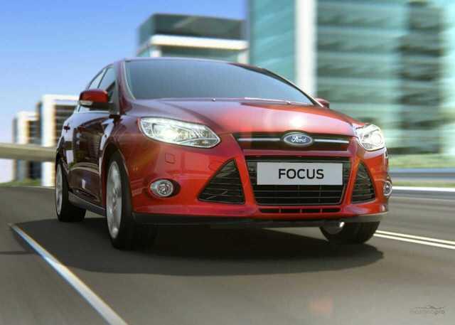 Ford Focus 3 замена лампочки ближнего света
