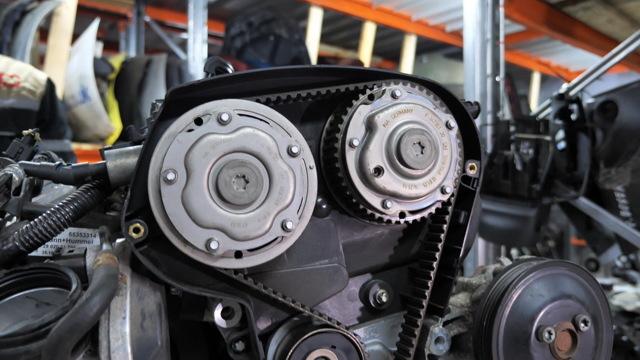 Opel-Vectra C 1,8l Z18XER, замена ремня механизма газораспределения